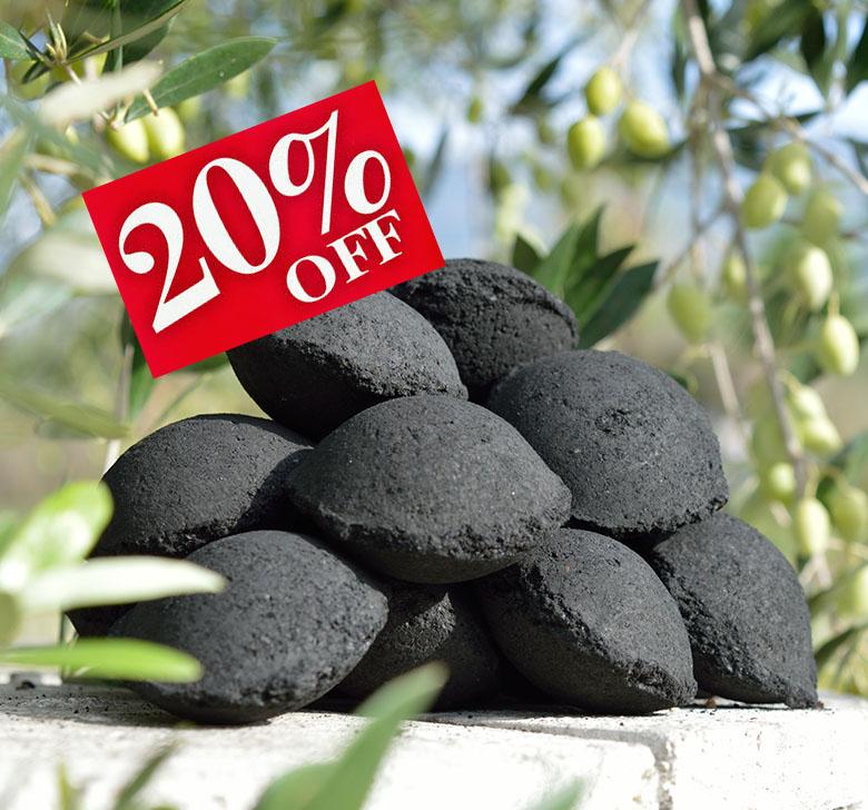 6Kg OleaBriq BBQ Briquettes